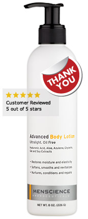 Your Free Full-Size Advanced Body Lotion