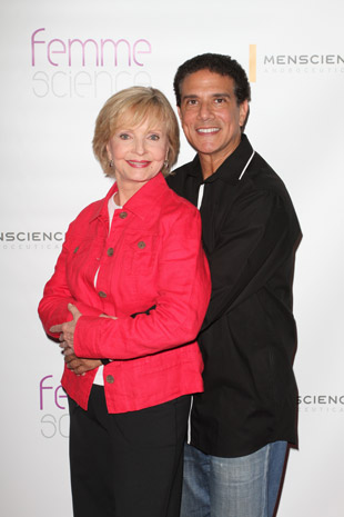 Corky Ballas & Florence Henderson from Dancing with the Stars
