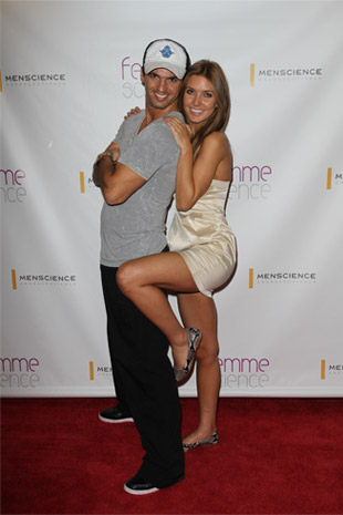 Tony Dovolani and Audrina Patridge from Dancing with the Stars