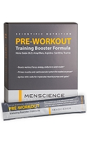 Pre-Workout Training Booster Formula